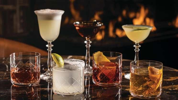 ambra various cocktails