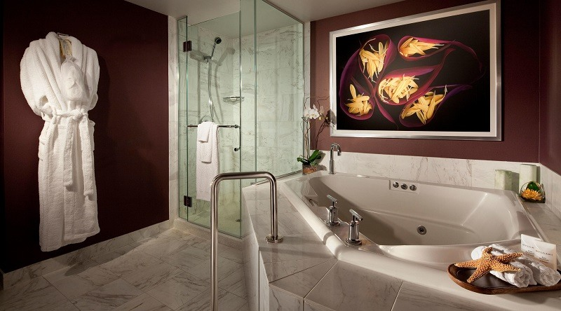 MGM Grand Tower Spa Suite Bathroom