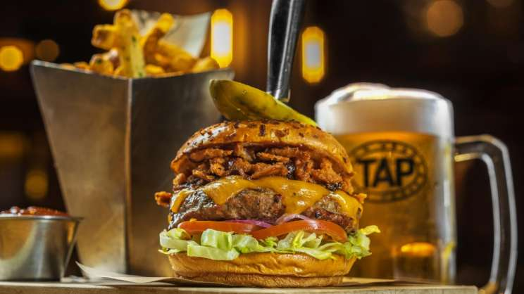 tap burger